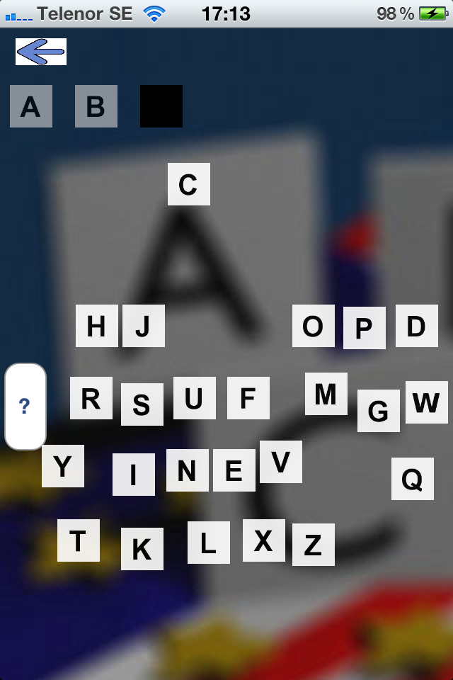 Screenshot American Alphabet Lite
