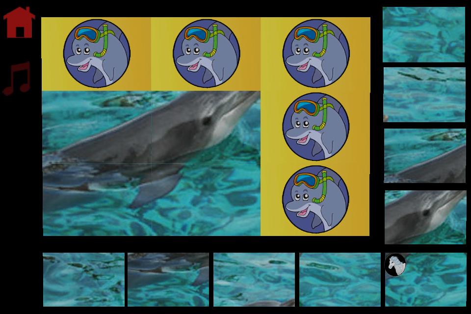 Screenshot dolphin feast for kids